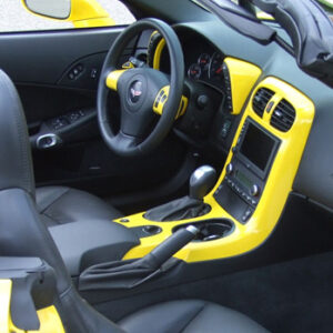 C6 Corvette 05-13, Painted Speedo Corners (Overlay)