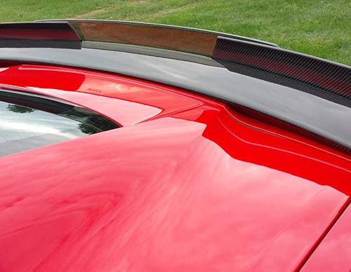 C7 Z06 15-UP, Replica Stage 2 Spoiler, 3 pcs/set, Matte Black (Carbon Flash, High Gloss Carbon or Matte Finish Carbon)  4