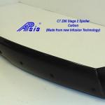 C7 Z06 15-UP, Replica Stage 2 Spoiler Side Pc Only, 2 pcs/set, Matte Black (Carbon Flash, High Gloss Carbon or Matte Finish Carbon)  2