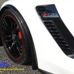 C7 Z06 15-UP Intergrated Front Spat/Splash Guard with or without Side Skirt, Matte Black (Carbon Flash, High Gloss Carbon or Matte Finish Carbon) 3