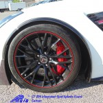 C7 Z06 15-UP Intergrated Front Spat/Splash Guard with or without Side Skirt, Matte Black (Carbon Flash, High Gloss Carbon or Matte Finish Carbon) 4