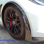 C7 Z06 15-UP Intergrated Front Spat/Splash Guard with or without Side Skirt, Matte Black (Carbon Flash, High Gloss Carbon or Matte Finish Carbon) 5